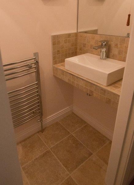 Tiled Toilet