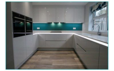 Kitchen In Dove Grey