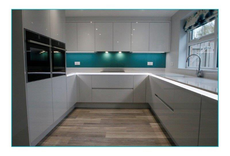 Kitchen In Dove Grey