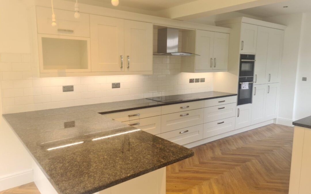 Fitzroy Porcelain With Granite Worktops